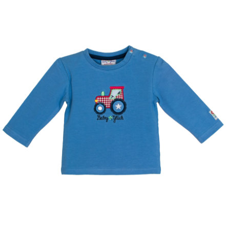 SALT AND PEPPER BabyGlück Langarmshirt Traktor mid blue