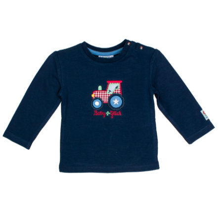 SALT AND PEPPER BabyGlück Langarmshirt Traktor navy blue