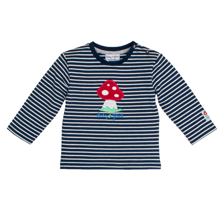 SALT AND PEPPER BabyGlück Langarmshirt Pilz navy blue