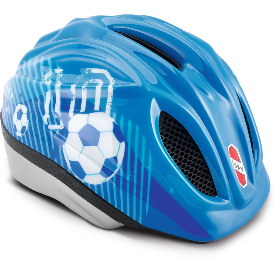 Puky Cykelhjälm PH 1 blå, fotboll, storlek:  M/L 9534