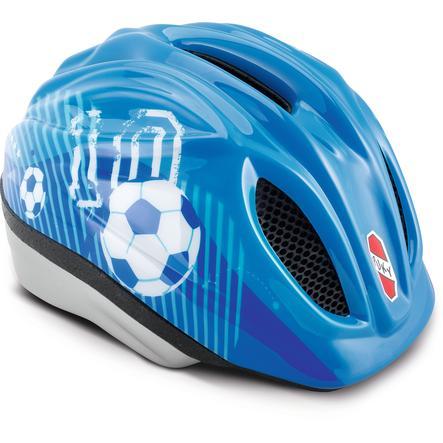 PUKY® Cykelhjelm PH Størrelse 1: Blå Fodbold 9524