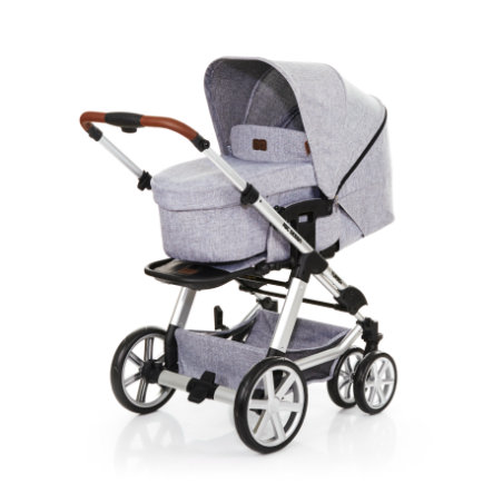 ABC DESIGN Combi kinderwagen Turbo 6 graphite grey incl. reiswieg