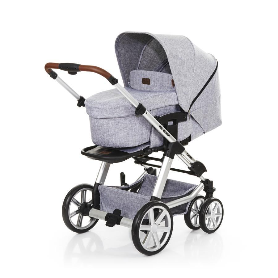 ABC DESIGN Wózek dziecięcy Turbo 6 graphite grey + gondolka