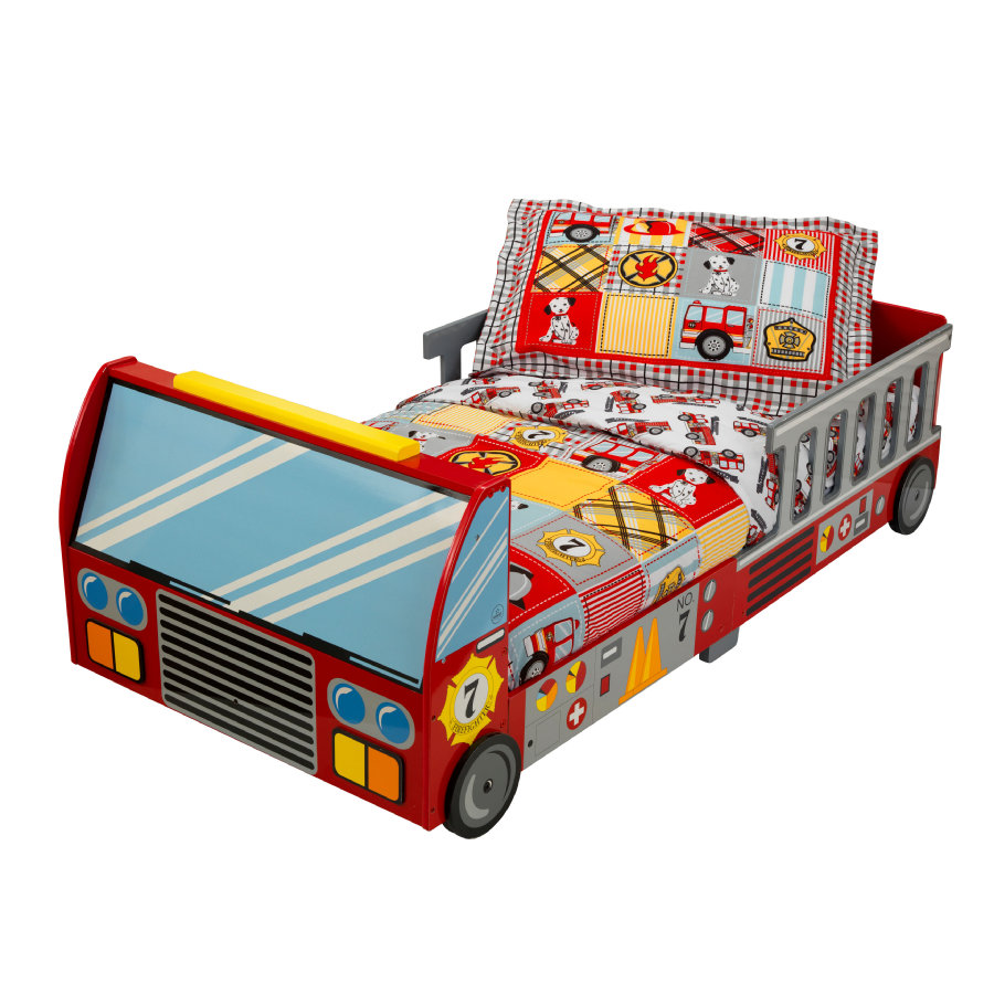 KidKraft® Kleinkind-Feuerwehrbett