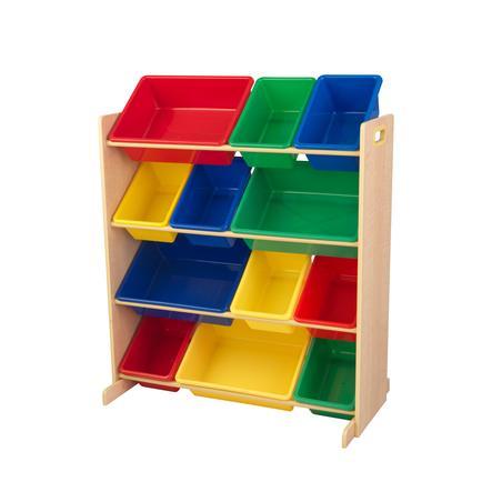 KidKraft® Aufbewahrungssystem in Primärfarben 12 Kisten