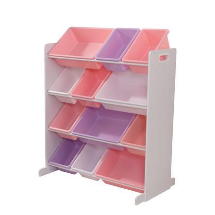 KidKraft® Aufbewahrungssystem in Pastellfarben 12 Kisten