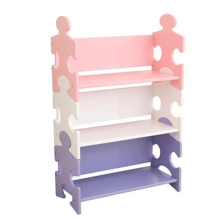 KidKraft® Bookcase Puzzle Pastel