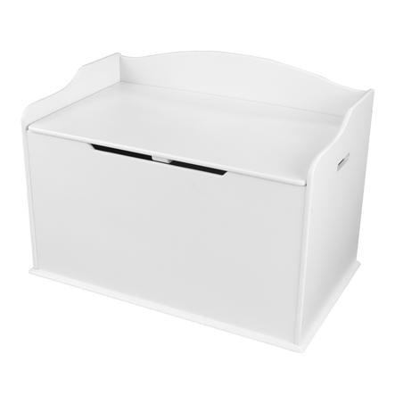 KidKraft® Coffre à jouets Austin, blanc 14951