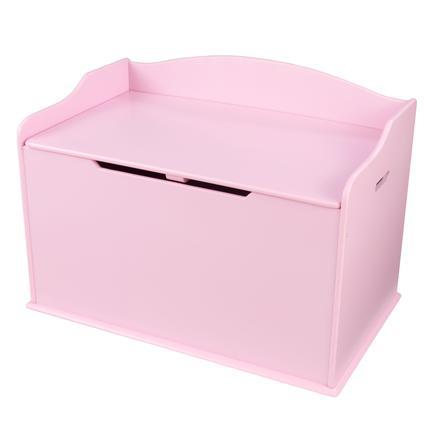 KidKraft® Coffre à jouets Austin, rose