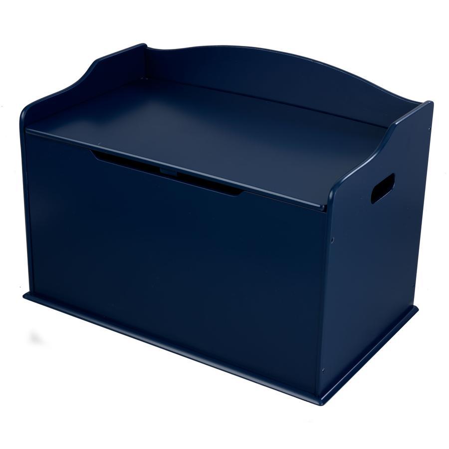 KidKraft® truhla na hračky Austin tmavě modrá