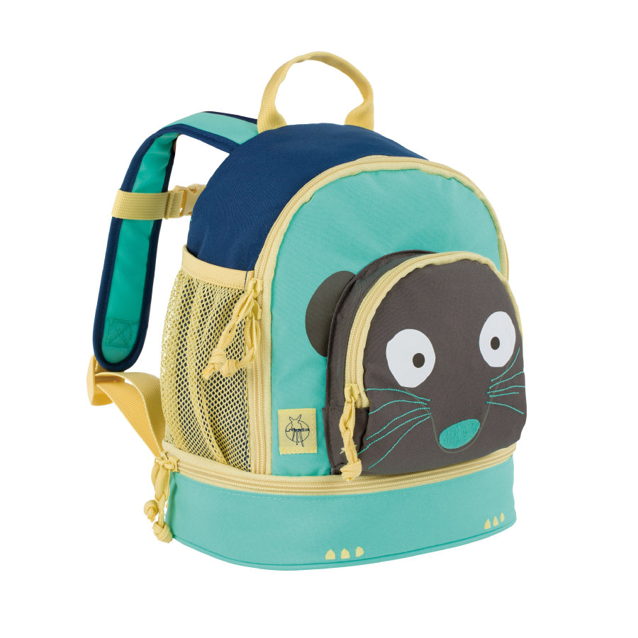LÄSSIG 4Kids Mini Backpack Wildlife - Katt