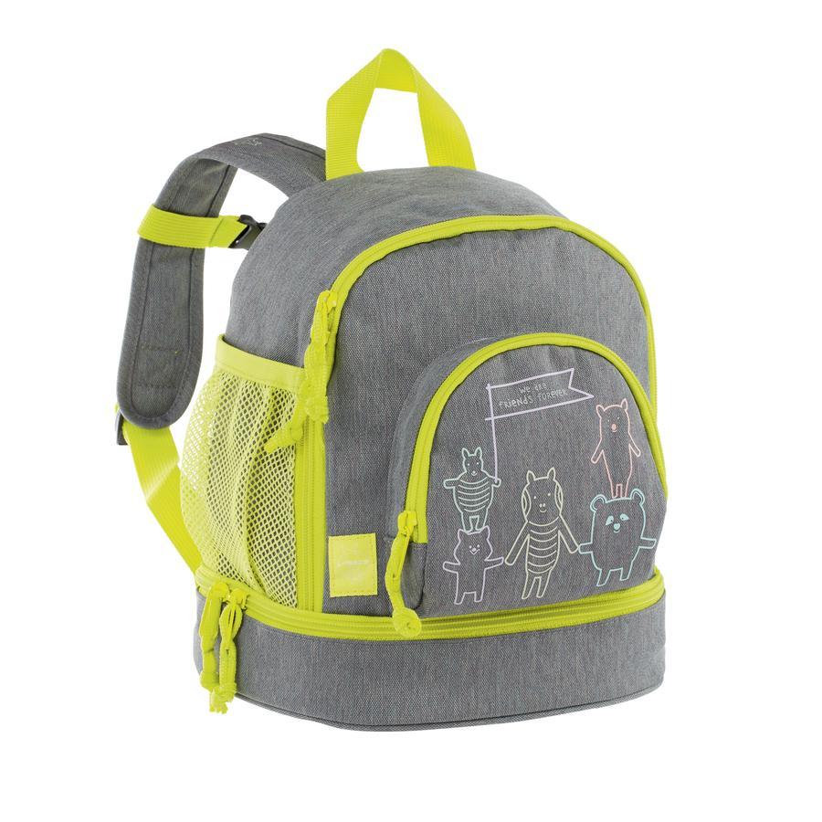 LÄSSIG 4Kids Mini Backpack About Friends - mélange grey