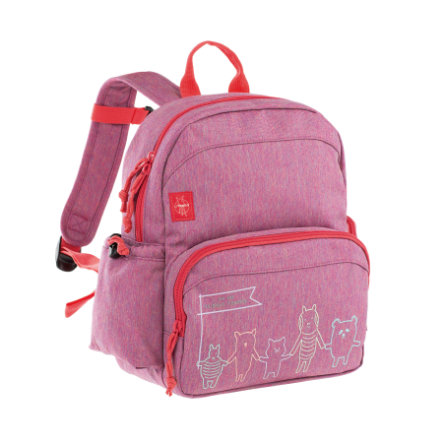 LÄSSIG 4Kids Medium Backpack About Friends - mélange pink