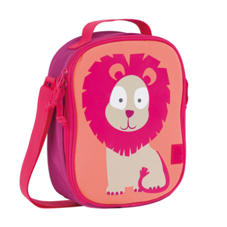 LÄSSIG 4Kids Mini Lunch Bag Wildlife - taštička na svačinu - lev