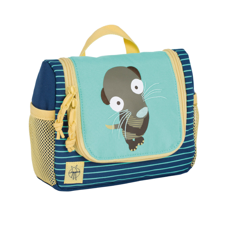 LÄSSIG 4Kids Mini Washbag Wildlife - Meerkat -