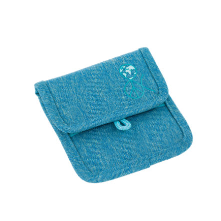 LÄSSIG 4Kids Mini Neck Pouch About Friends - mélange blue