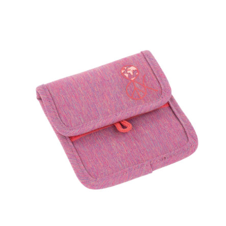 LIKE 4Kids Mini Neck Pouch About Friends  - kapička na krk- mélange růžová