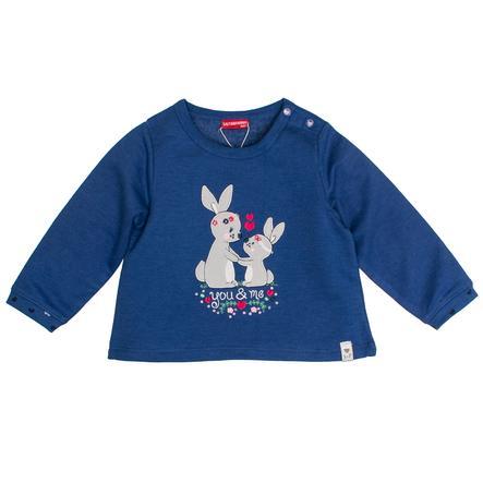 SALT AND PEPPER girls -genser Herlig kanin indigo blå