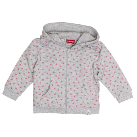SALT AND PEPPER Girls Sweatjacke Lovely light grey