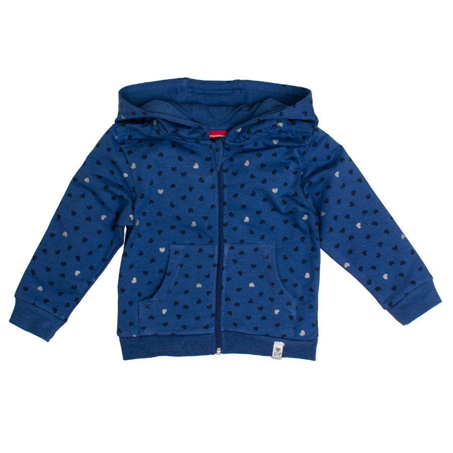SALT AND PEPPER Sweatjacke Lovely indigo blue