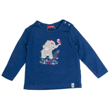 SALT AND PEPPER Langarmshirt Lovely Cutie indigo blue