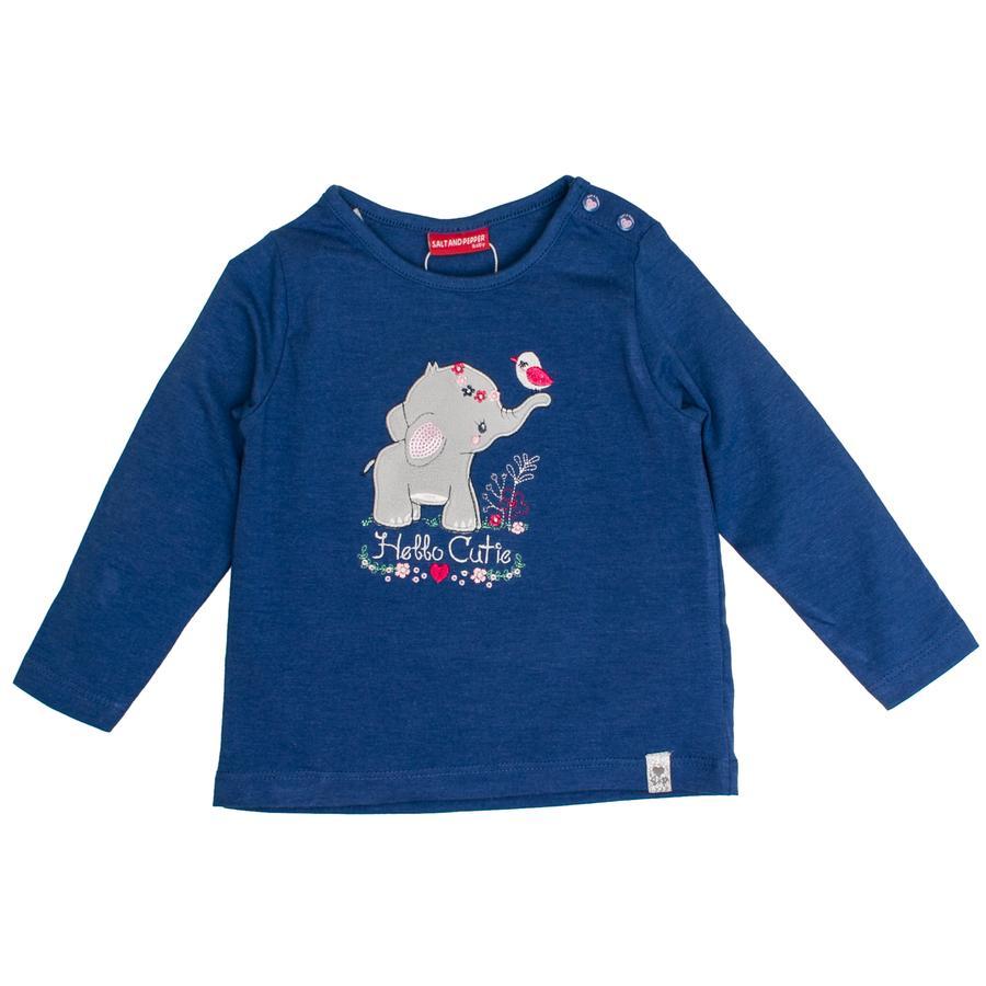 SALT AND PEPPER Koszula z długim rękawem Urocza koszula Cutie indigo blue