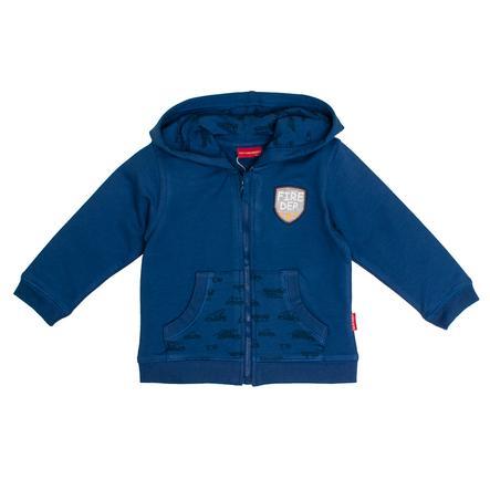 SALT AND PEPPER  Sweat Jacket Brandkår stark blå