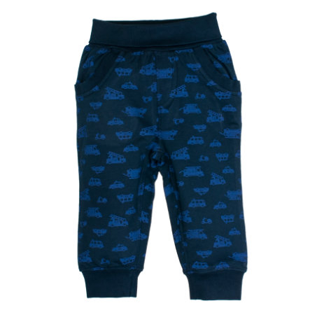 SALT AND PEPPER Boys Sweathose Little Hero crown blue