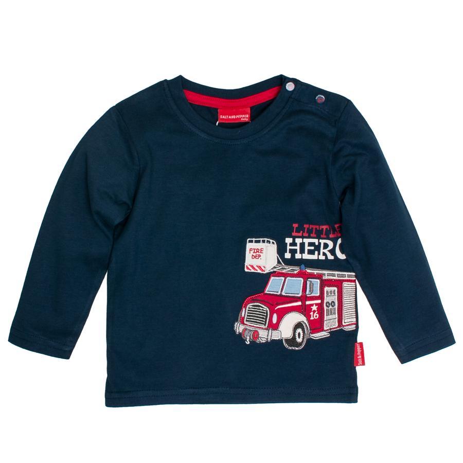SALT AND PEPPER Shirt met lange mouwen Little Hero sterk blauw