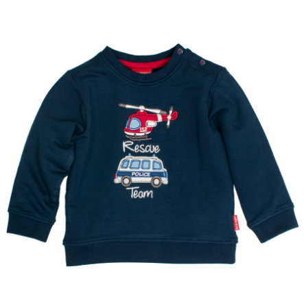SALT AND PEPPER Sweatshirt Reddingskroonje Little Hero Reddingskroon blauw