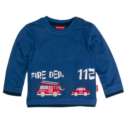SALT AND PEPPER Poikien pitkähihainen paita Little Hero vahva sininen sininen