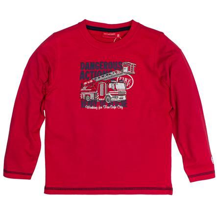 SALT AND PEPPER Boys Camicia manica lunga Fire Dangerous rosso