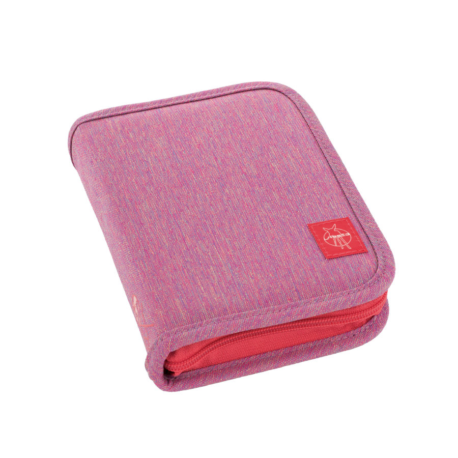 Lässig 4Kids School Pencil Case Big About Friends - melange pink