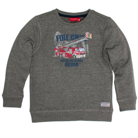 SALT AND PEPPER Boys Sweatshirt Fire Chief dark grey