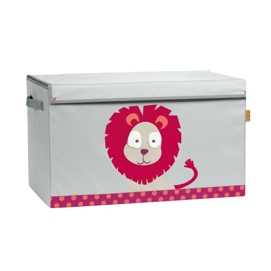 LÄSSIG 4Kids Toy Trunk Wildlife - Lion