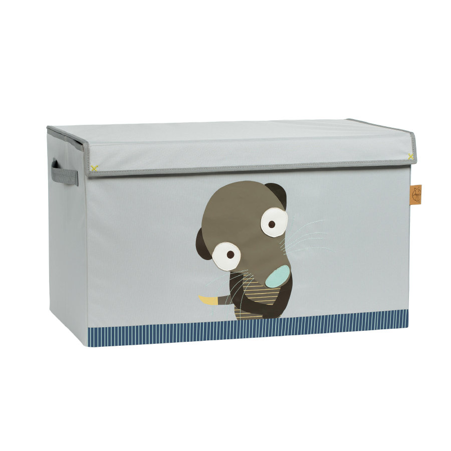 LÄSSIG 4Kids Toy Trunk Wildlife - Meerkat
