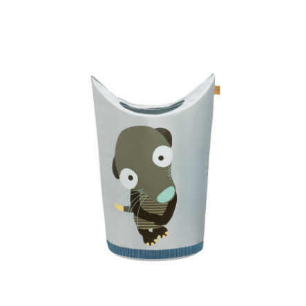 LÄSSIG 4Kids Laundry Bag Wildlife - Meerkat