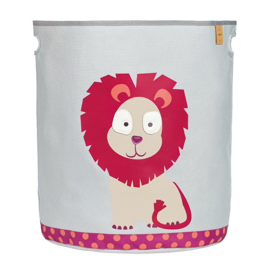 LÄSSIG 4Kids Toy Basket Wildlife - Lion