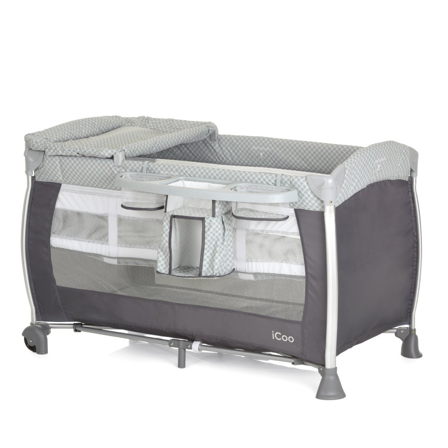 iCoo Reisebett Starlight Diamond Grey