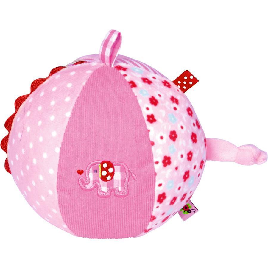 COPPENRATH - Stoffball mit Glockenspiel rosa BabyGlück