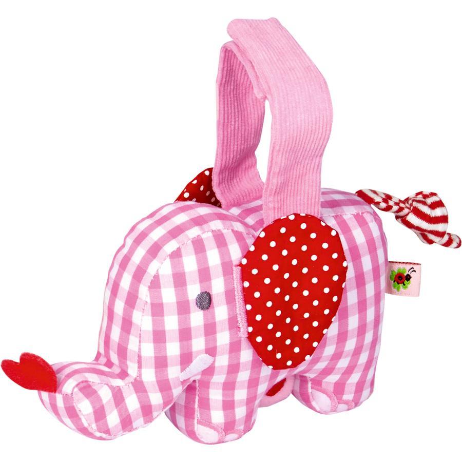 COPPENRATH Mini-Spieluhr Elefant rosa BabyGlück