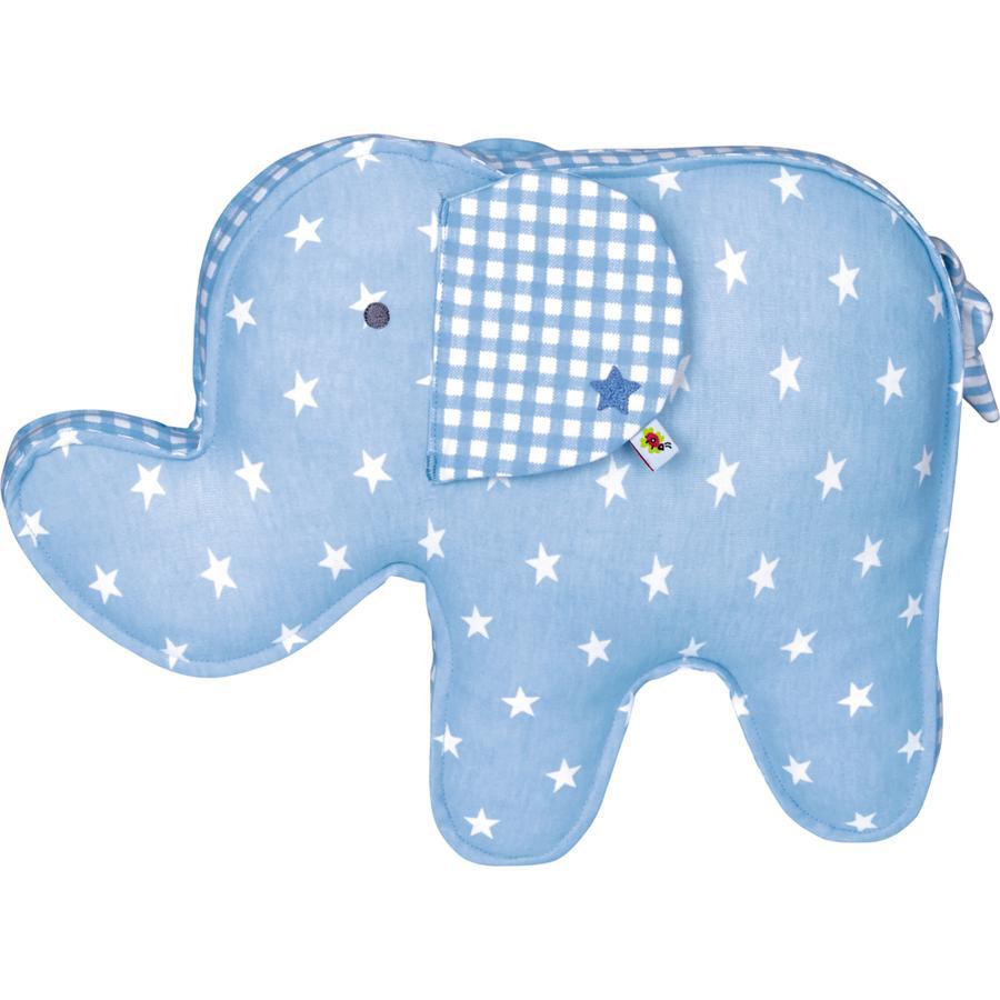 COPPENRATH oreiller Elefant bleu Baby ciel chance