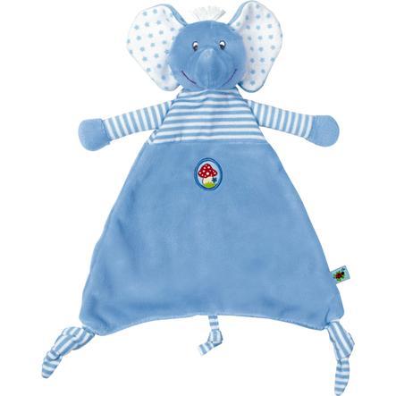 COPPENRATH Schnuffeltuch Elefant hellblau BabyGlück
