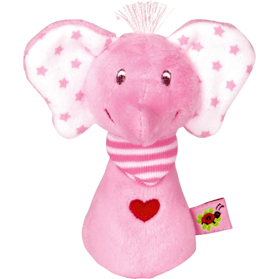 COPPENRATH Minirassel Elefant rosa BabyGlück