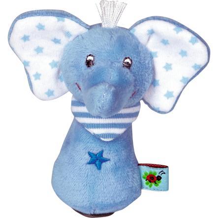 COPPENRATH Skallra elefant - ljusblå - Babylycka