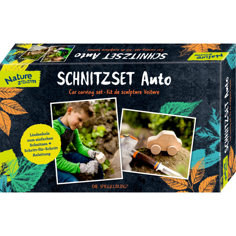 COPPENRATH Schnitzset Auto - Nature Zoom