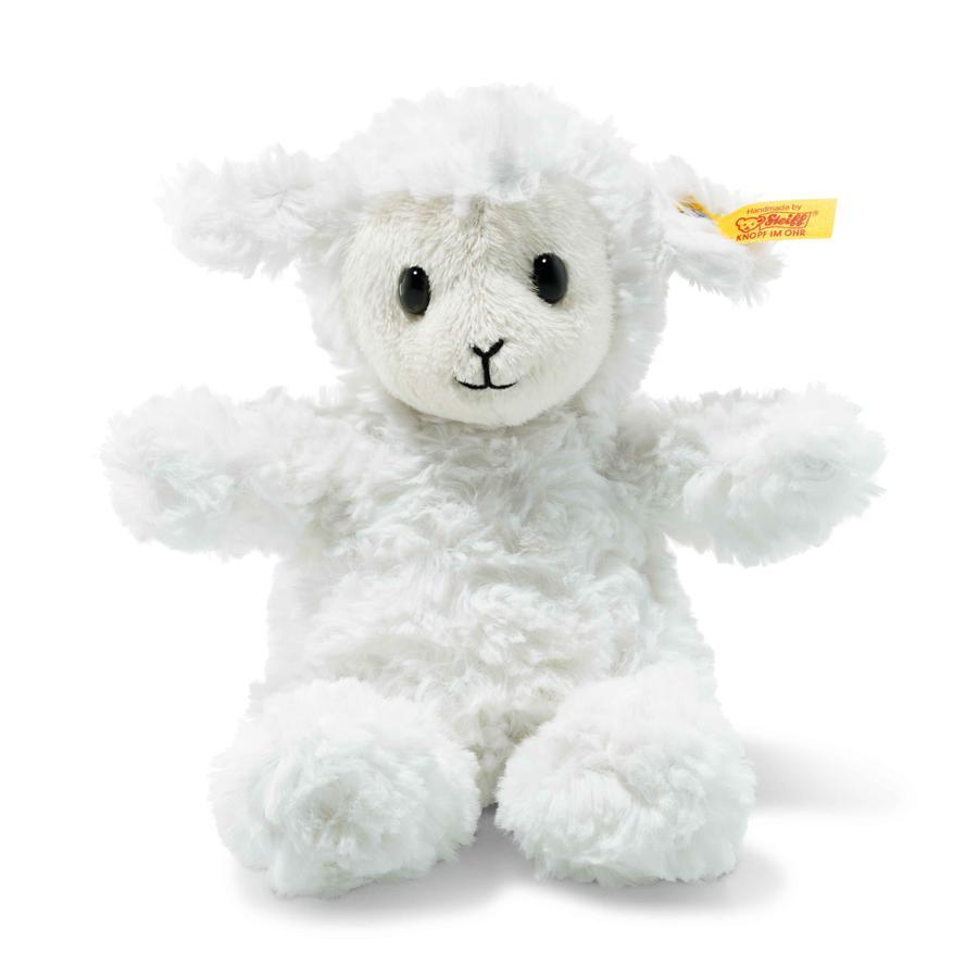 STEIFF Soft Cuddly Friends Fuzzy Lammas, 18 cm