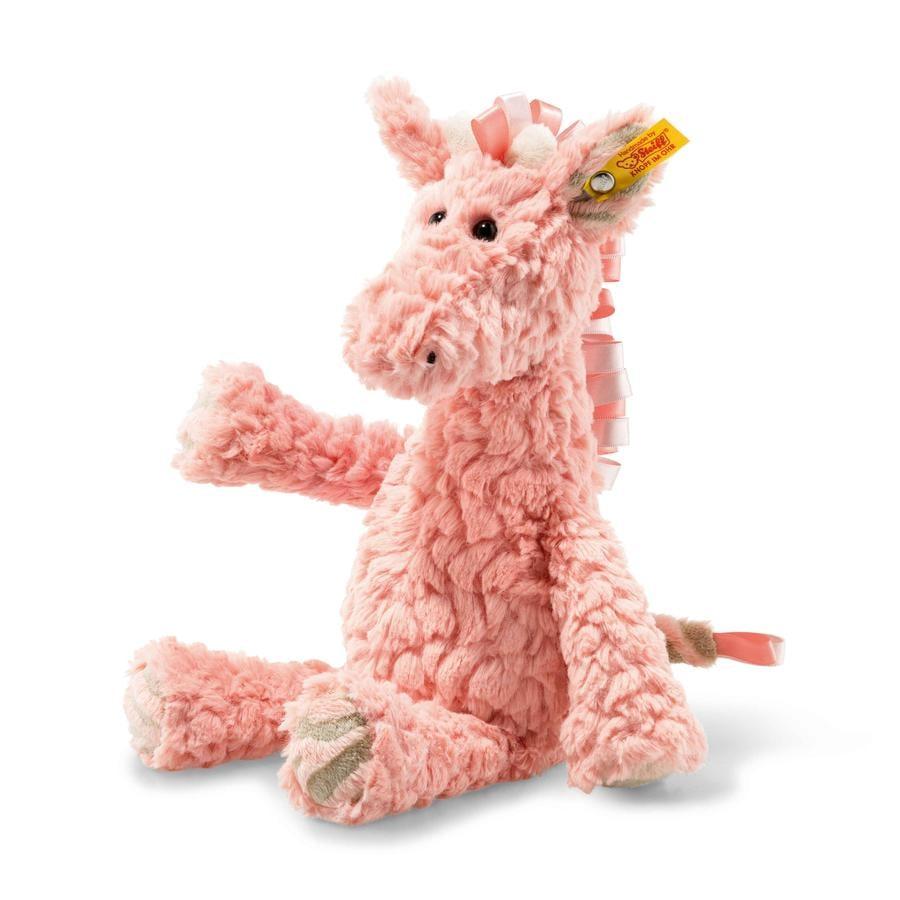 Steiff Soft Cuddly Friends Giselle Giraf 30cm, lyserød