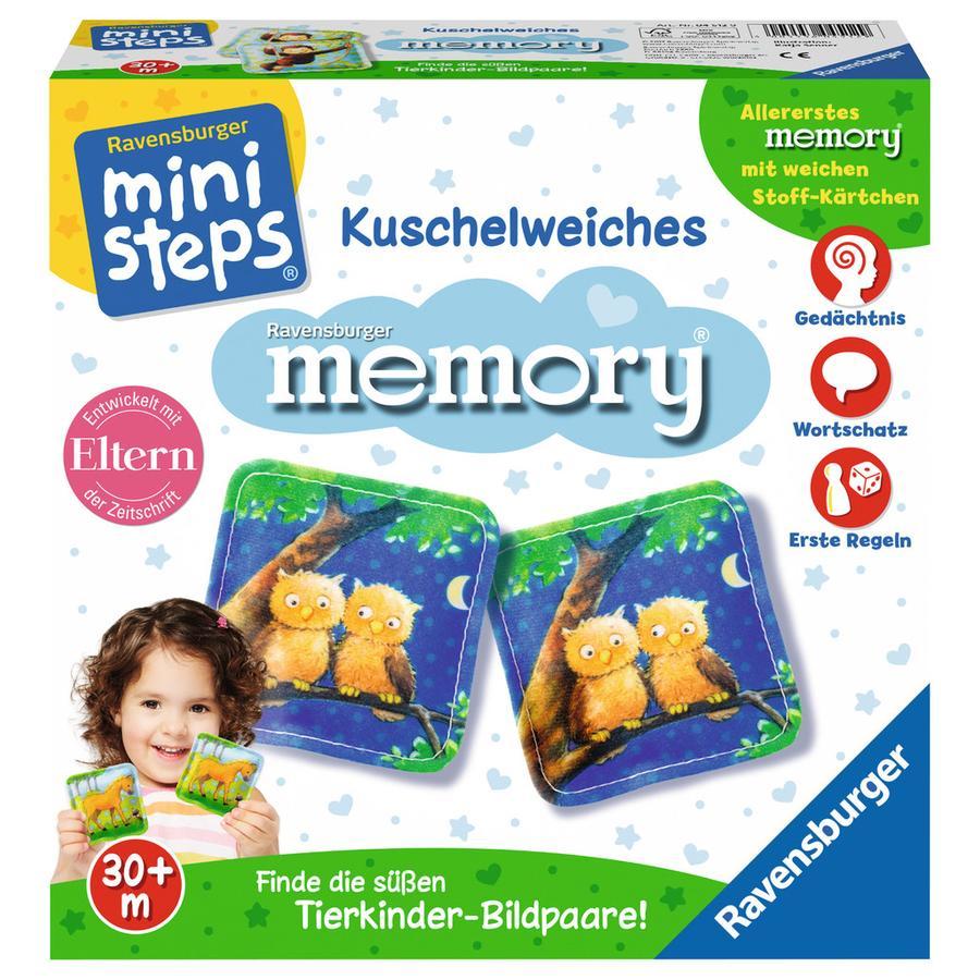 Ravensburger ministeps® - Kuschelweiches memory®