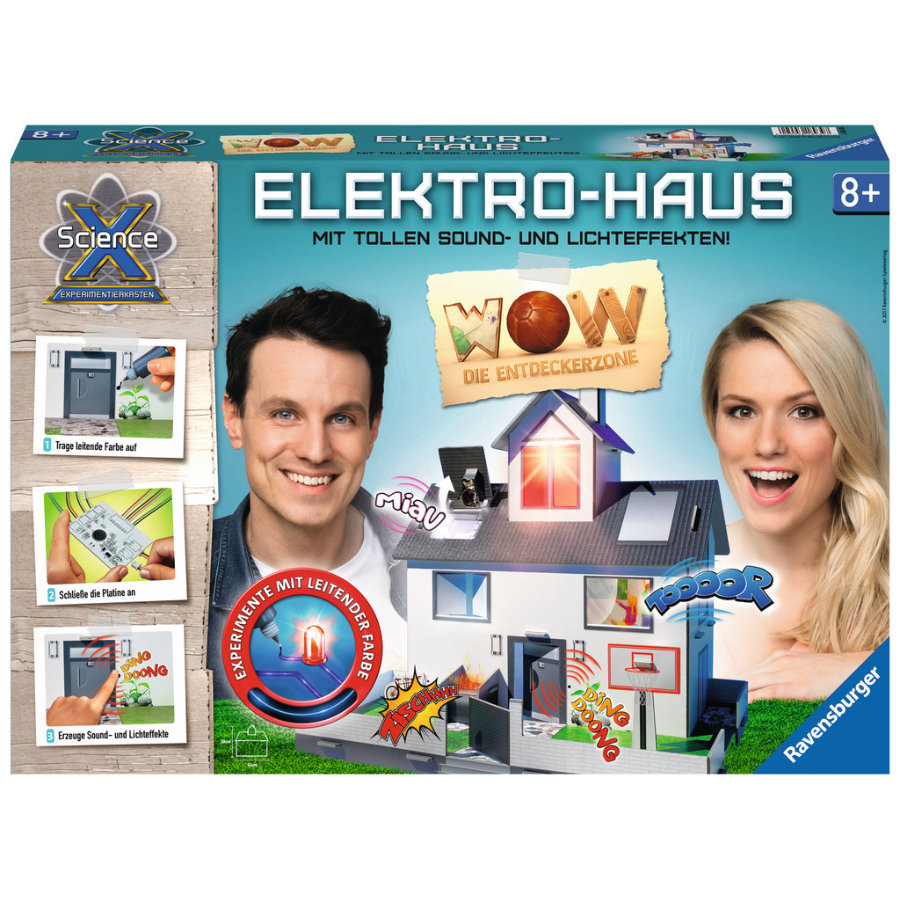 Ravensburger ScienceX® - Elektro-Haus